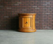 End Table ~ Chairside Table ~ Tuscany Oval Drum Table by Ethan Allen