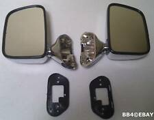 Toyota Hilux Side Chrome Plastic Skin Door Mirrors 1988 - 2004 Right Left Side