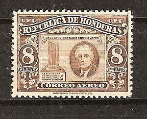 HONDURAS # C 158 MNH PRESIDENT ROOSEVELT MEMORIAL