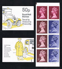 Gb 1978 50P Commercial Vehicle Booklet Sc# Bk623 Mint = Po Fresh!