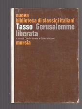 "GERUSALEMME LIBERATA di Torquato Tasso - ""NUOVA BIBLIOTECA DI CLASSICI ITALIANI"""