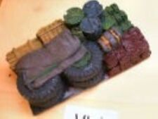 SGTS MESS VL01 1/72 Resin Vehicle Load of Tires, Drums