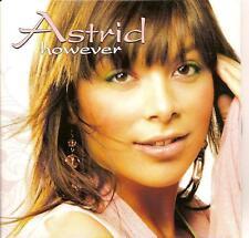 ASTRID - however CD SINGLE eurodance 2004 BELGIUM RARE!