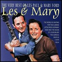 LES PAUL & MARY FORD - VERY BEST OF CD ~ GREATEST HITS *NEW*