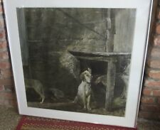 ANDREW WYETH RACCOON, Large Collotype, New York Graphic Society Framed