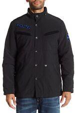 NWT True Religion 3 In 1 Utility Field Jacket Jet Black/Blue Camo Size XL $399
