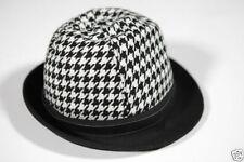 Chapeau cloche en polyester pour femme