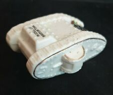 More details for world war one ceramic crested china mk iv tank by willow art with brighton crest