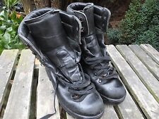 ECW BLACK LEATHER EXTREME COLD WET WEATHER GORE-TEX BOOTS - 11 Med British Army