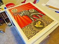 2009 Shepard Fairey Obey Giant Obey Elephant - ART PRINT PASTER POSTER AUTHENTIC