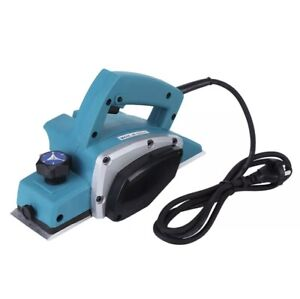 800W Powerful Electric Wood Hand Planer Woodworking Heavy Duty 13000-16000RPM