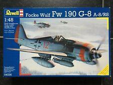 REVELL 1/48 Focke Wulf FW190 G-8 A-8/R8 #04536