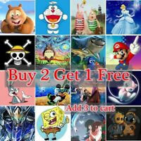 Cartoons Characters 5D DIY Full Drill Diamond Painting Kits Home Art Decors Gift