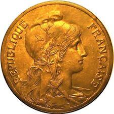 1900 FRANCE 5 CENTIMES / UNC / TRACES OF LUSTRE    BU14