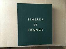 ALBUM VIDE YVERT ET TELLIER FRANCE 1987 -1990 + FIN DE CATALOGUE EN BON ETAT