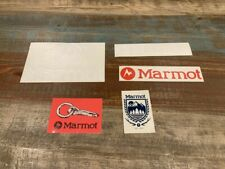 5 Marmot Logo Stickers Vinyl Mountain Outdoor Red White Awesome Stickers!