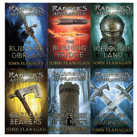 John Flanagan Rangers Apprentice(Books 1- 6) Collection 6 Books Set Pack New PB