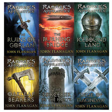 John Flanagan Rangers Apprentice(Books 1- 6) Collection 6 Books Set Pack New PB