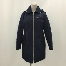 Michael Kors Coat Size L UK 14 Hooded Quilted Style Casual Winter Women 282957