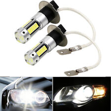 2Pcs H3-4014-30SMD 20W 6000K Ultra White 1100LM Car Fog Light LED Lamp Bulb