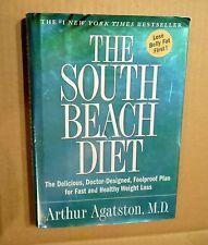 The South Beach Diet! Arthur Agatston,MD! N.Y.Times Bestseller! HC! DJ! VG Cond!
