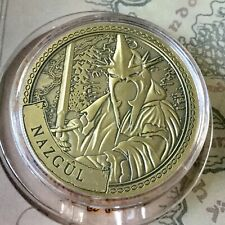 Nazgul Lord Of The Rings Limited Edition 38mm Collectors Coin In Capsule