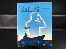 ANCIENNE REVUE MARINE MARS 1958 N° 19 SOUS MARINS  80 PAGES