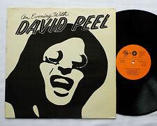 David PEEL An evening with(Live N.Y.1975)CZECH LP GLOBUS International (1990) EX