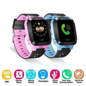 Rastreador GPS seguro para niños Anti-perdido Reloj inteligente para Android iOS
