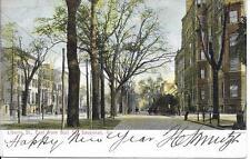 Liberty St East from Bull Street Savannah GA nice postcard postally used in 1907