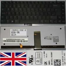 CLAVIER QWERTY UK DELL Studio XPS 13 1340 XSB87 0HW184 139301-002 9J.N0W82.XNX