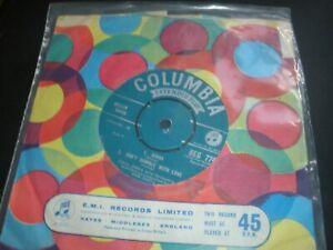 """Paul Anka Diana 4-Track 7"""" Vinyl EP Single Columbia SEG 7747 I Love You Baby"""
