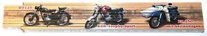 MZ RT 125 ETS ES 250 Motorrad DDR Zollstock Meterstab aus Buchenholz 2 m Z016