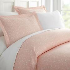 ienjoy Elegant Solf Essentials 2 Piece Twin Duvet Cover Set Pink Buds $62