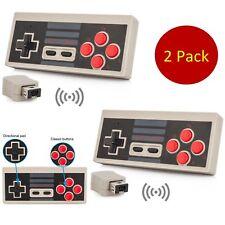 2x Wireless NES Controller Gamepad For Nintendo Mini Classic Edition Console New
