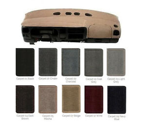 Toyota Dash Cover Custom Fit - You Pick Color for Most Models and Years CP2TY