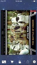Topps Star Wars Digital Card Trader Battle Of Endor Widevision Insert