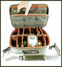 Olive & Gray Fly Fishing Storage Bag For Reels & Accessories