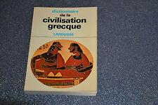 DICTIONNAIRE DE LA CIVILISATION GRECQUE (E5)