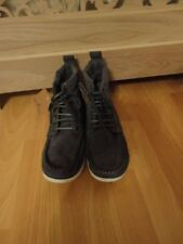 Stivali in pelle scamosciata grigio con da Henleys, nuovo con scatola, UK taglia 6,EU39