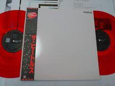 BEATLES WHITE ALBUM JAPAN ORIGINAL 1982 UK CUTTING LIMITED MONO RED VINYL W/OBI