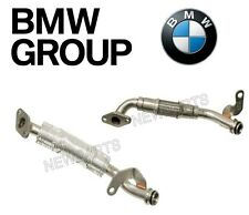For BMW F01 F02 Set of Front & Rear Turbocharger Oil Line-Cylinders Return OES