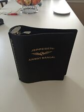 "*NEW* Jeppesen Airway Manual 2"" Bonded Leather"