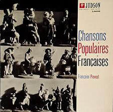 FRANCOISE PREVOST - CHANSONS POPULAIRES FRANCAISES - JUDSON LP