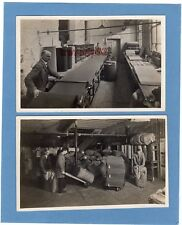 2 Industrial Cloth making Factory RP pcs unused Cyril Foley Wigan Ref L208