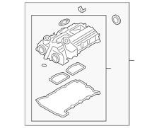 Genuine BMW Valve Cover 11-12-7-588-412