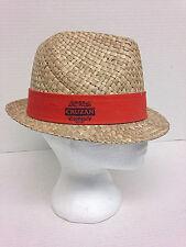 Cruzan Rum Fedora Hat Orange Band One Size