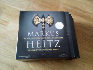 Zwerge. Die komplette Saga ungekürzt (Die Zwerge ) von Markus Heitz -Alle auf CD