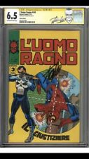 Amazing Spider-Man #129 CGC 6.5 Italian Edition SIGNED by STAN LEE 1st PUNISHER