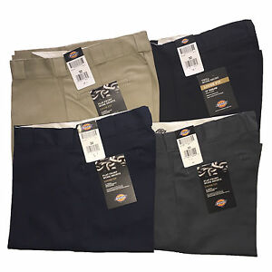 """Dickies Mens 42274 13"""" Loose Fit Flat Front Work Short  ALL Colours BK KH DN CH"""